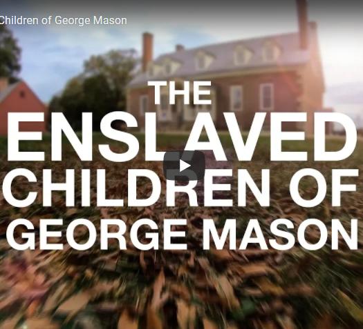 Screenshot of The Enslaved Children of George Mason video